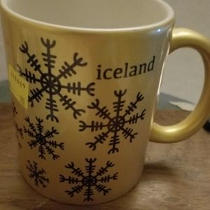 Iceland Gold Voffee Mug Never Used Giemrfeous colo